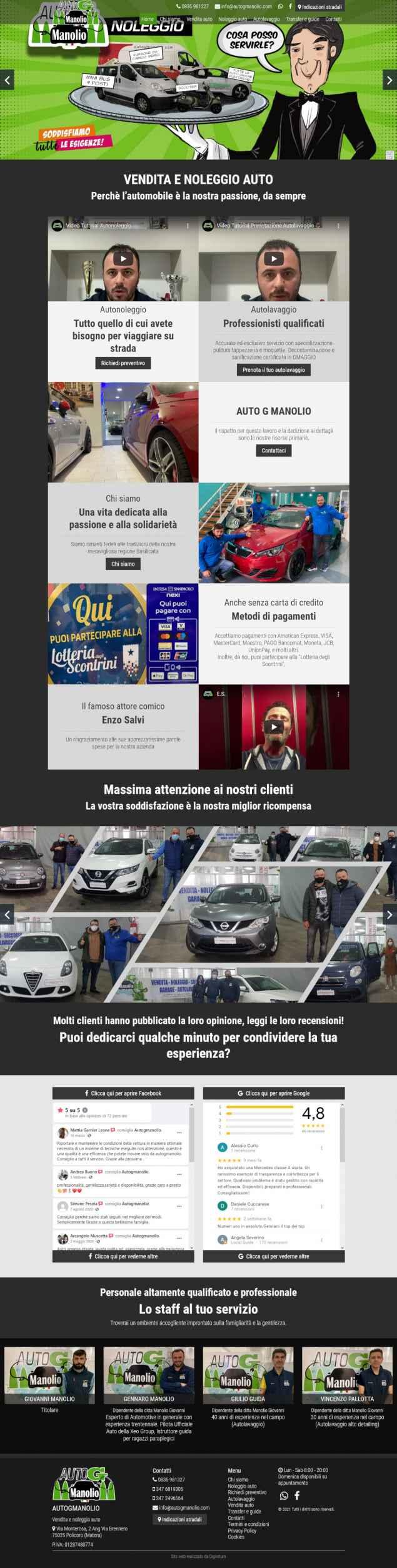autogmanolio com homepage
