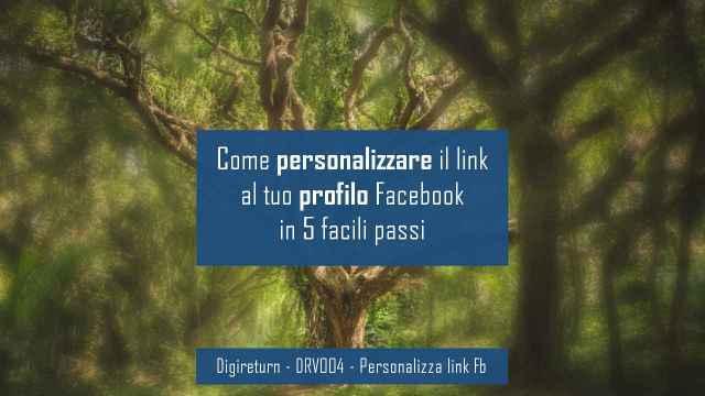 Personalizzare link fb